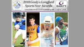 Cast your vote! Four contenders for Ganly's Longford Sports Star of the Month Award