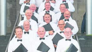 Leitrim Men's Choir to perform in St. George's,  Carrick-on-Shannon as part of Culture Night
