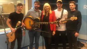 LISTEN | Longford's Brave Giant impress RTE's Miriam O'Callaghan with their new single 'Somebody's Someone'