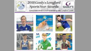 VOTE | Six in contention for Ganly's Longford Sports Star of the Month Award
