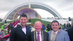 Longford's First Citizen attends Papal Mass