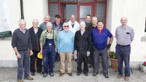 Longford Men's Shed delighted to move into their new home