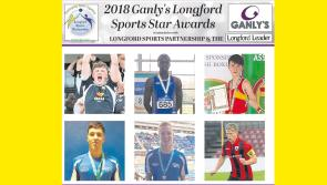 VOTE | Have your say and vote for the Ganly's Longford Sports Star of the Month Award winner