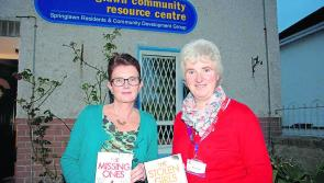 Patricia Gibney addresses Springlawn Book Club in Longford