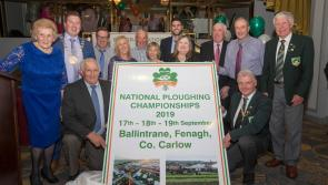 Kilkenny to receive major boost with  2019 National Ploughing Championships confirmed for Carlow