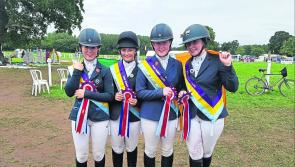 Longford Pony Club team represent the community