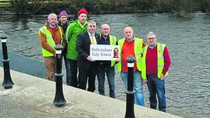 Ballymahon Tidy Towns strike a blow for community spirit