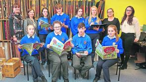 Longford students get involved with the Aisling Festival
