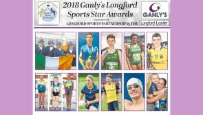 VOTE | Ten top nominees looking for your vote to become Ganly's Longford Sports Star of the Month