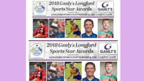 VOTE | Five contenders for Ganly's Longford Sports Star of the Month award for September