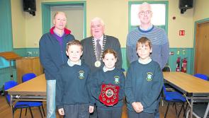 Granard Agri Show presentations to local national schools