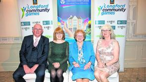 Volunteers recognised at Longford Community Games Gala awards night