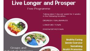 EDI Centre Longford encouraging people to take part in 'Live Longer and Prosper' programme