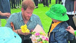 History repeated as Longford youngster rubs shoulders with Prince Harry