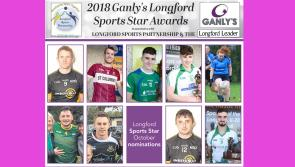 VOTE | Nine people seeking your vote to become Ganly's Longford Sports Star of the Month award winner for October
