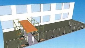 No timetable for use of safety fences and scaffolding at schools says Department of Education