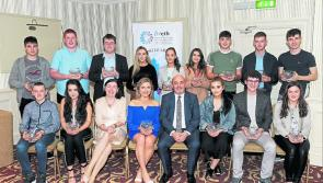 Students of Longford Westmeath Education & Training Board schools receive Academic Excellence Awards