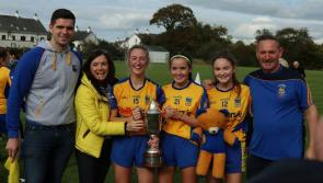 Longford ladies football champions Carrickedmond to reel in the years