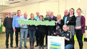 Longford GAA club get behind #JustPlayFootball Healthy Club campaign