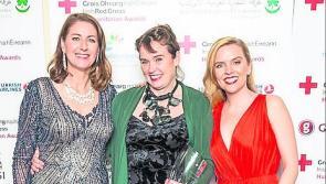 Longford journalist honoured by  Red Cross