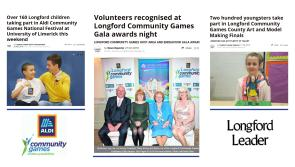 Longford Leader to receive 2018 Aldi Community Games Media Award for online coverage