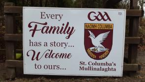 GALLERY | Mullinalaghta GAA family gripped by Leinster final fever as good luck messages are erected across north Longford