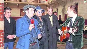 Cronin brothers from Drumlish  perform with Johnny Depp at Shane MacGowan's wedding