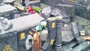 Longford family's outrage as vandals desecrate grave