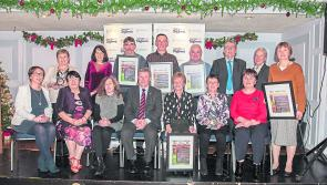 Abbeyshrule cleans up at Tidy Towns awards