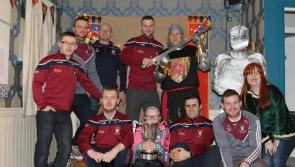 GALLERY | Mullinalaghta giant killing heroes rub shoulders with legends at Knights & Conquests Heritage & Visitor Centre in Granard
