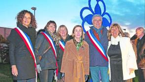 Sculpture unveiled in Longford to mark 20th anniversary of French twinning