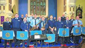 Garda Band kicks off the Christmas spirit in Ballymahon