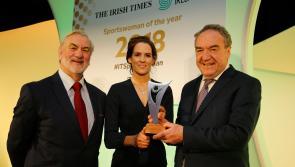Tipperary jockey Rachael Blackmore honoured at Irish Times Sport Ireland Sportswoman of the Year awards