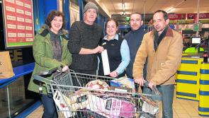Harry's free shopping spree with Lidl Longford Trolley Dash