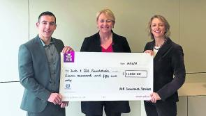 AIB Longford donate €11,050 to Jack and Jill Foundation