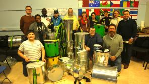 A welcome Christmas present as Longford's new Samba Band receives new equipment