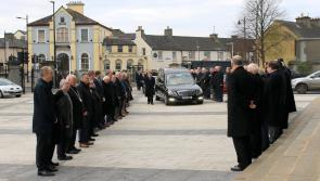 LISTEN | Funeral Mass of late Peter Kelly hears he served the people of Longford with great commitment and sincerity