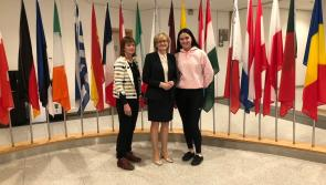 MEP welcomes Longford school competition winners to Brussels