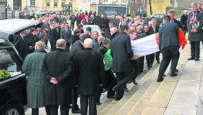 Emotional tribute as mourners told of how grandson told Longford's Peter Kelly: 'You're a fantastic man Grandad'