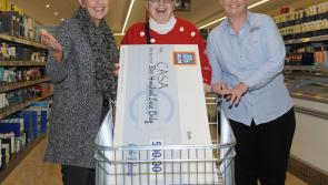 Caring and Sharing Association (CASA) awarded €500 by Aldi Longford store