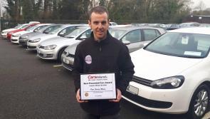 Ballymahon's Peter Hanley Motors scoops another carsireland.ie award