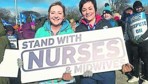 'We can't take it anymore. Enough is enough': Longford nurses join industrial strike action