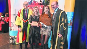Longford student wins DCU scholarship for academic excellence