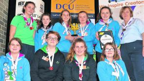 Longford girl guide scoops Lego League prize