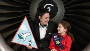 Aer Lingus partners with the Irish Girl Guides to encourage more girls to consider careers as pilots and engineers