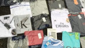 UPDATE: Images of counterfeit goods seized by Gardaí in Ardee