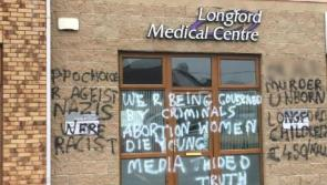 Anti-abortion vandals deface Longford GP Clinic
