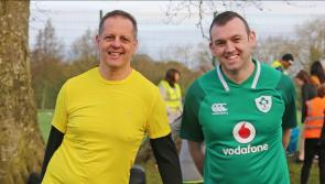 Longford Leader gallery:  Crowds turn out in force for glimpse of Ireland and Munster rugby star Tadhg Beirne at Longford parkrun