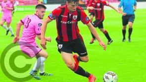 Longford Town defender Tristan Noack-Hofmann looking for consistency