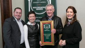 Longford's Viewmount House highly commended for 'very delicious' breakfast at Georgina Campbell awards